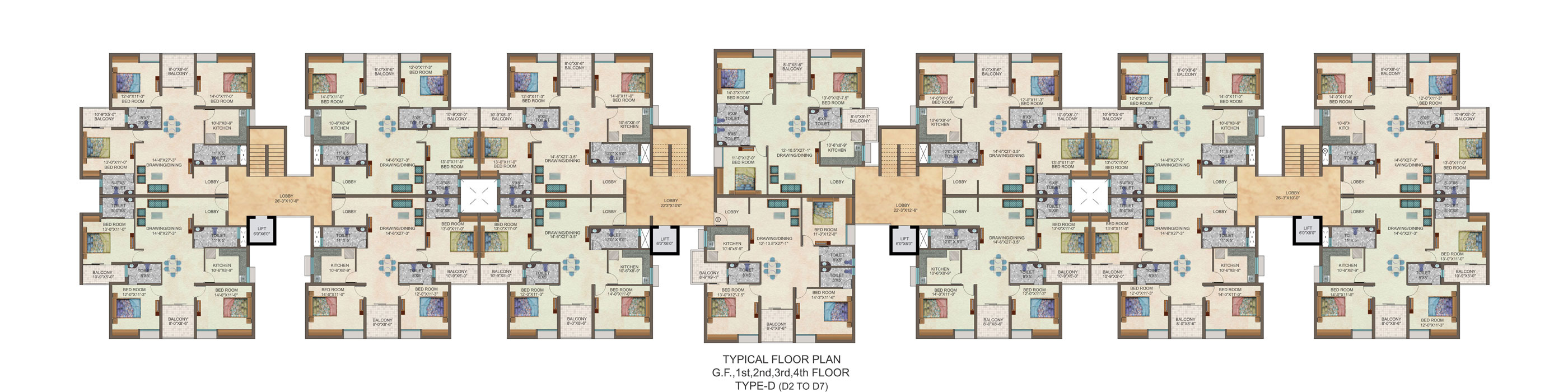 Ideal properties floor plans for Apartment design guide part 5
